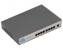 Коммутатор неуправляемый GIGALINK GL-SW-F001-08HP