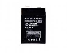 Аккумулятор General Security GS 2.8-6 (2.8 А/Ч; 6 В)