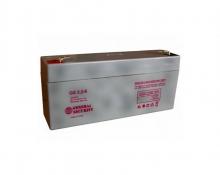 Аккумулятор General Security GS 3.2-6L (3.2 А/Ч; 6 В)