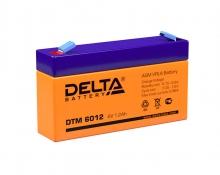 Аккумулятор Delta (DTM 6012) 6В 1.2А/Ч
