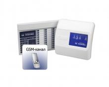 Беспроводная сигнализация «Галактика» ЦБ GSM + БИУ-Р2