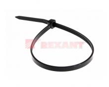 Хомут nylon 4.0 х 200 мм 100 шт черный REXANT