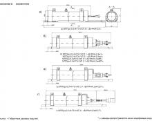 Вид моделей в зависимости от модификаций Буран-0,3