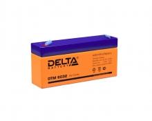 Аккумулятор Delta (DTM 6032) 6В 3,2 Ач