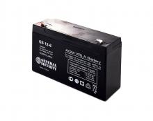 Аккумулятор General Security (GS 12-6) 6В 12А/Ч