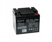 Аккумулятор General Security (GS 40-12) 12В 40А/Ч