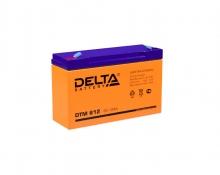 Аккумулятор Delta (DTM 612) 6В 12 Ач