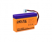 Аккумулятор Delta (DTM 12008) 12В 0,8 Ач