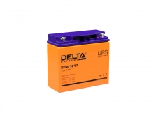Аккумулятор Delta (DTM 1217) 12В 17 Ач