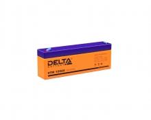 Аккумулятор Delta (DTM 12022) 12В 2,2 Ач
