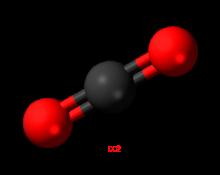Газ двуокись (диоксид) углерода CO2 (ГОТВ)