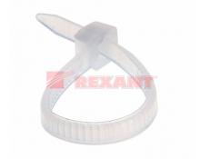 Хомут nylon 2.5 х 100 мм 100 шт белый (Упак)